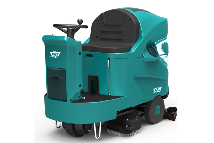 机械厂yong驾shi式洗地机T150