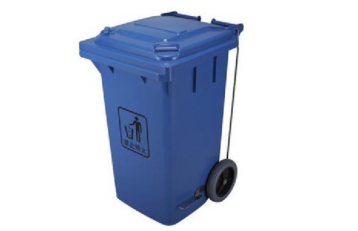 脚踏shi塑料垃圾桶