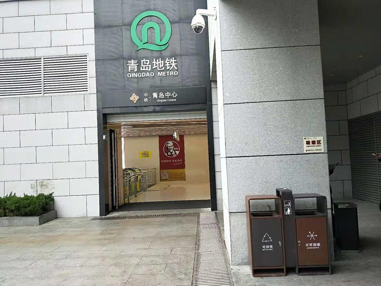 地tiezhan分类垃圾桶