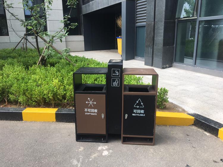 户外liang分类垃圾桶NH-232