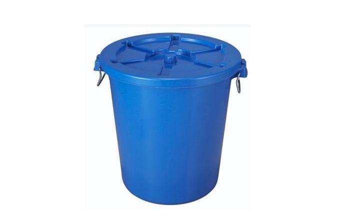 圆形带gai塑料垃圾桶