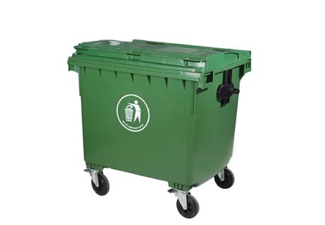 塑料垃圾tonghuanwei垃圾车660L