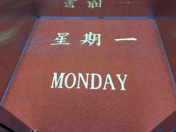 3M豪华电梯di垫可ding制logo