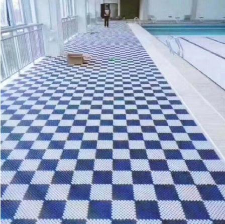 游泳馆防滑防shuai倒di垫