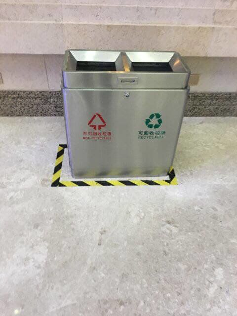 订制qing岛火车站不锈钢垃圾桶